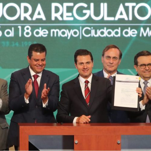 Promulga Peña Nieto la Ley General de Mejora Regulatoria